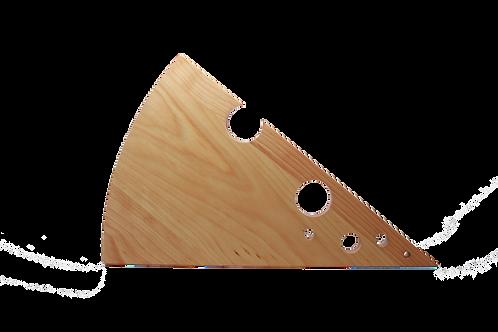 Cheese Shaped Cutting Board