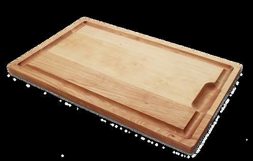 13x21 Hardwood Cutting Board with Juice Well & Groove