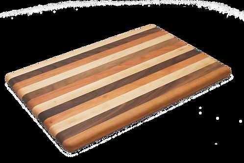 12x18 Mixed Wood Cutting Board