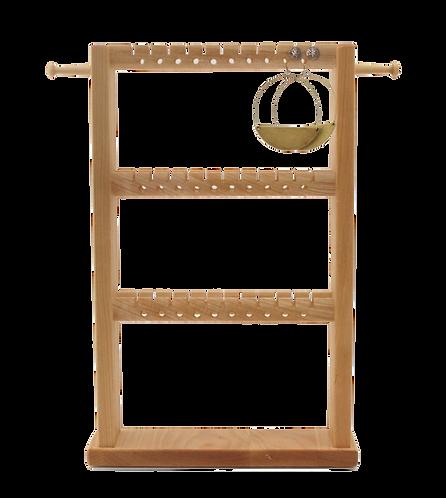 Hardwood Jewelry Rack