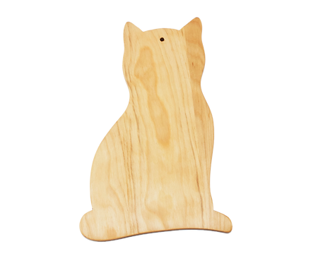 Cat Shaped Cutting Board
