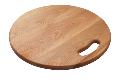 Circular Cutting/Serving Board with Handle