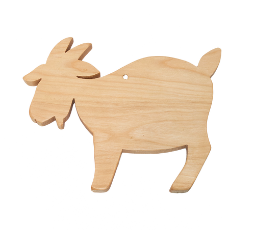 Goat Shaped Cutting & Serving Board