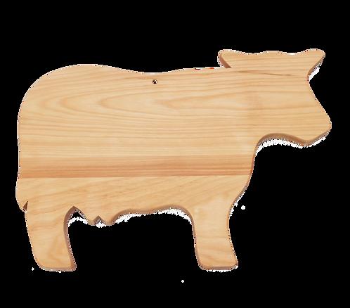Cow Shaped Cutting Board