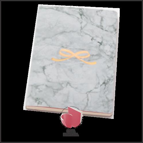 Paper Talk Flex Maxi Pautado Pink Stone - Marmore