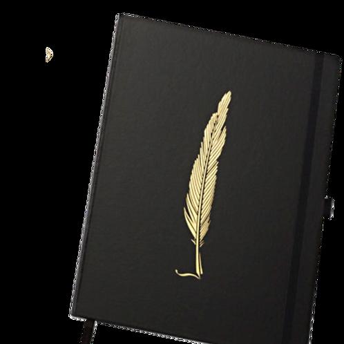 Caderno Papertalk Ultra Noir Pena