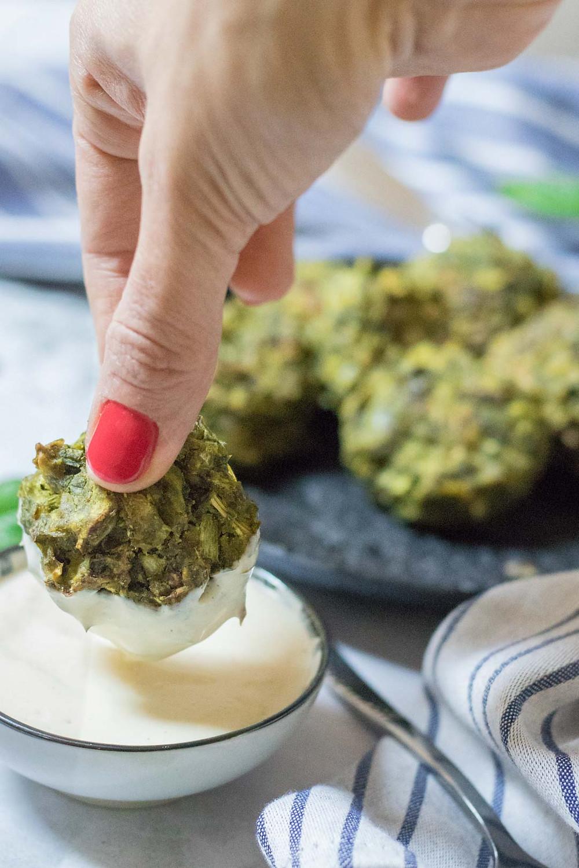 לביבות ירק טבעוניות ללא גלוטן לארוחת צהריים טבעונית
