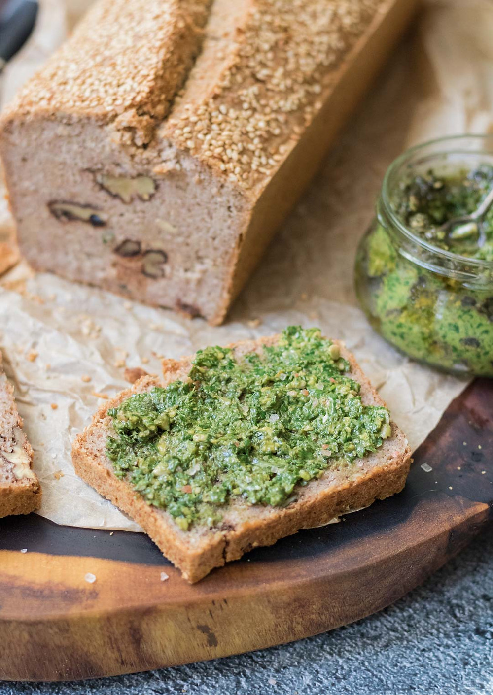 לחם כוסמת קינואה טבעוני ללא גלוטן לחם בריא