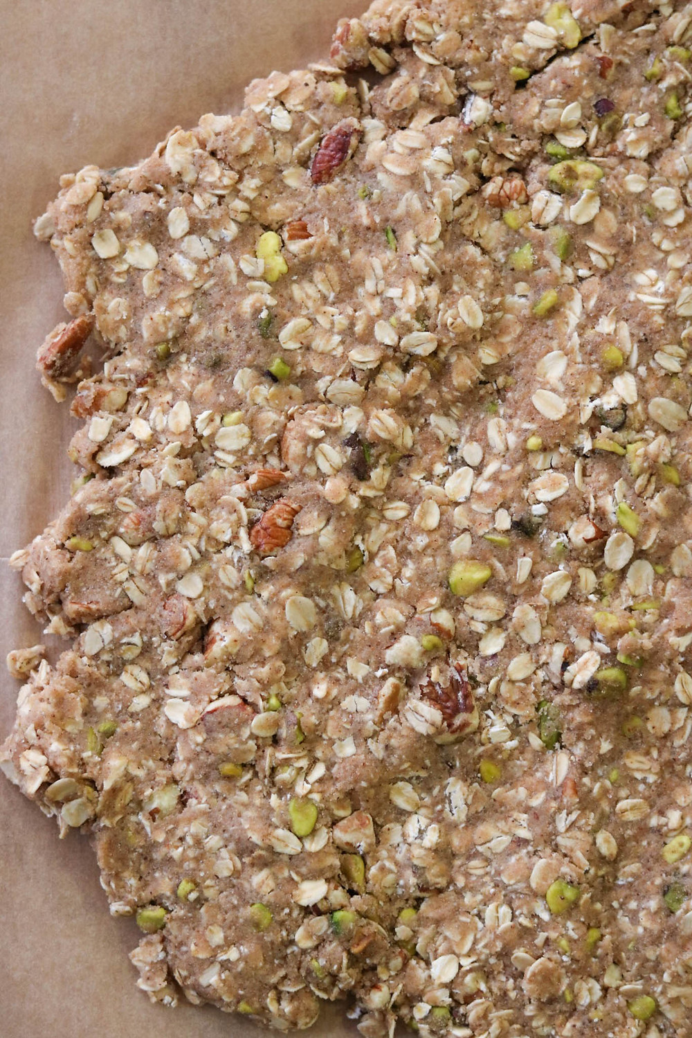 חטיפי גרנולה טבעוניים מקמח כוסמין מלא