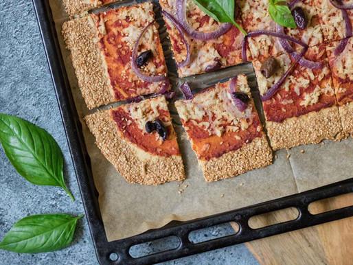 פיצה חומוס ללא גלוטן
