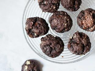 עוגיות פאדג' שוקולד טבעוניות