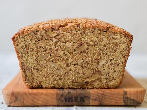 לחם קינואה ועדשים ללא גלוטן