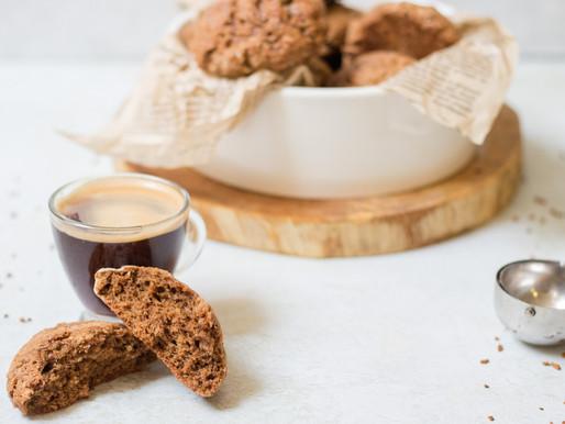 לחמניות קפה מתוקות מקמח כוסמין מלא