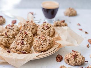 עוגיות גרנולה טבעוניות ורכות