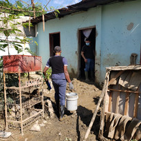 Helping in Honduras