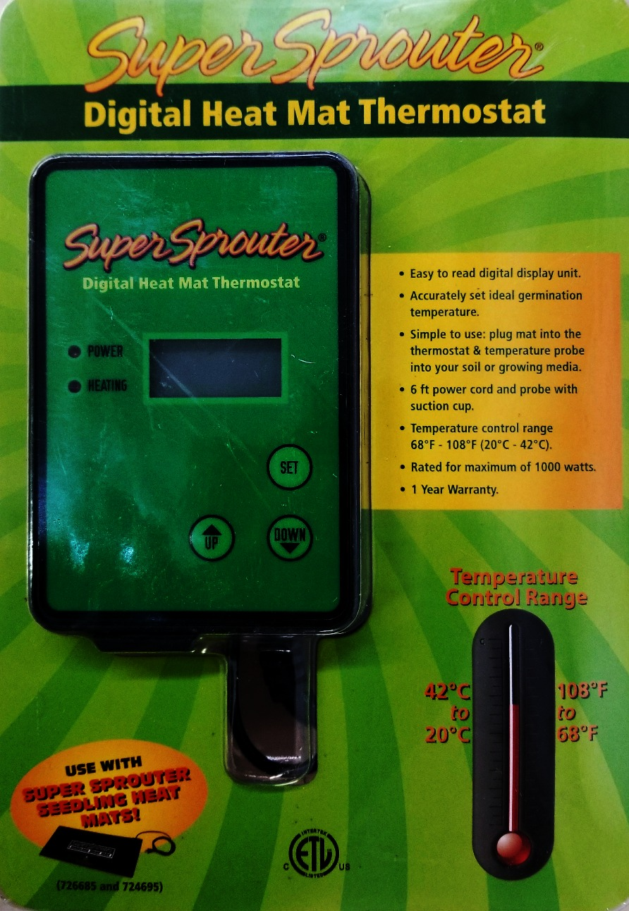 Seed Sprouting Thermostat amazon.com