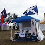 Loch Lonach tent at Sherman Games 23 Mar