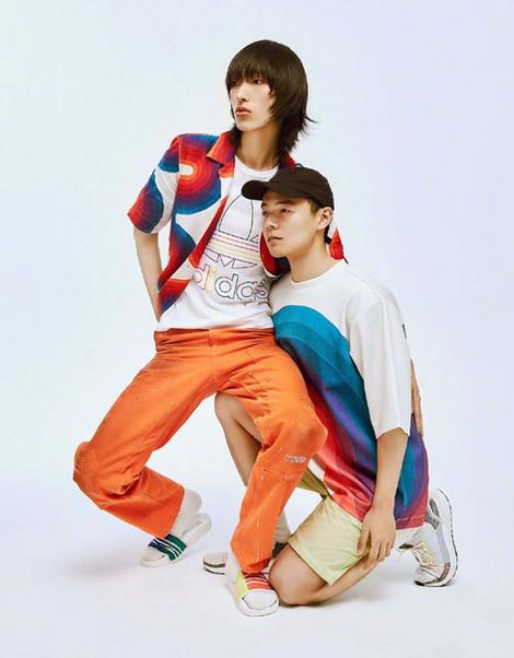 LiuHao is Adidas
