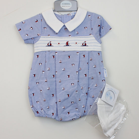 Smocked Sailboat Outfit