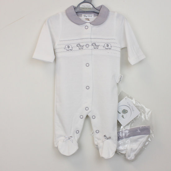 Preemie Boy Smocked Outfit