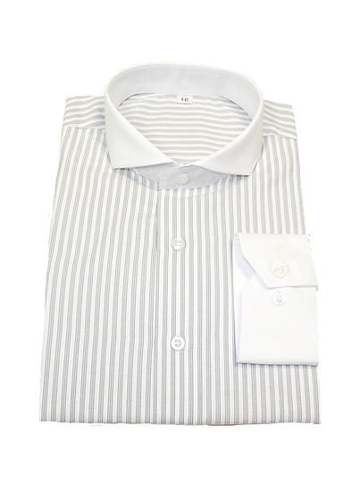 Gray Stripe Shirt