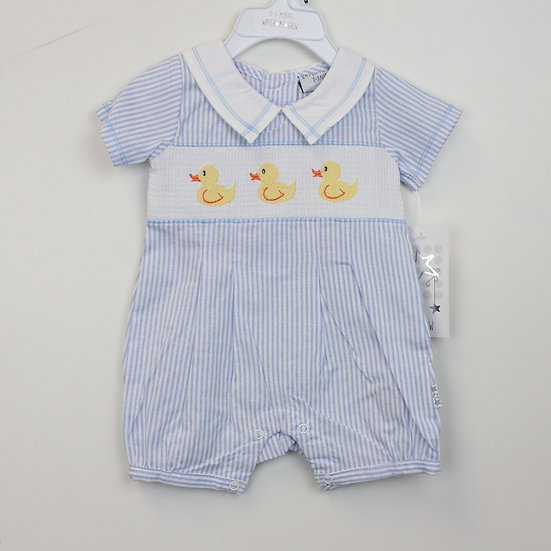 Smocked Duck Outfit