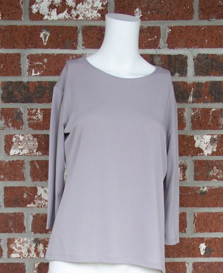 Gray ITY Slinky Shirt