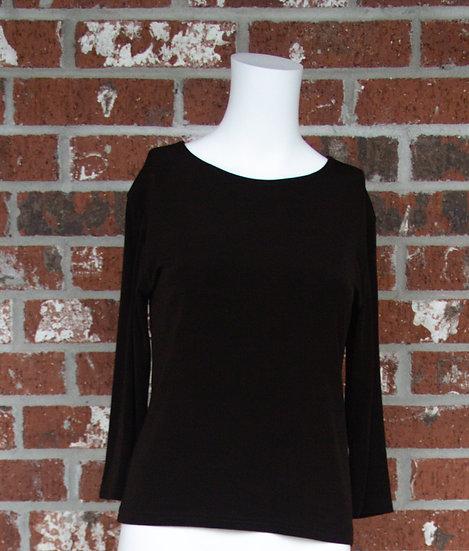 Black ITY Slinky Shirt