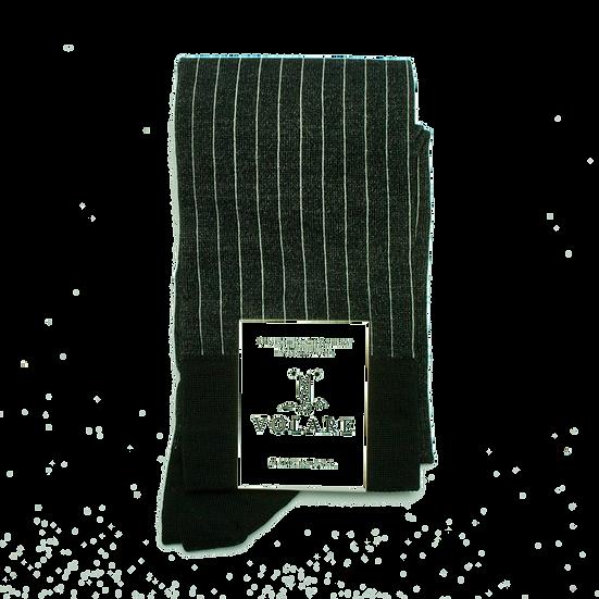 OTC Black / Ash Vertical Stripe Socks