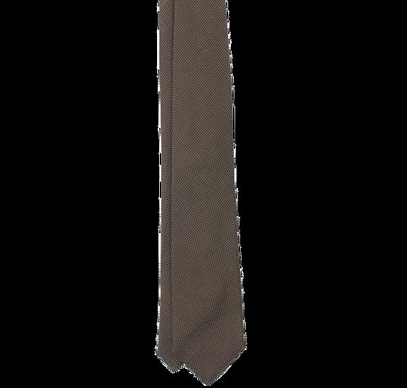 Brown Micro Grenadine Tie
