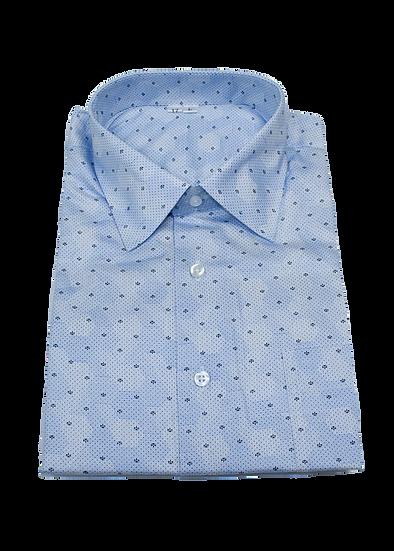 Blue Hexagon Shirt