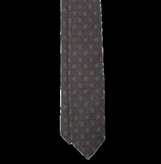 Green Pattern Tie