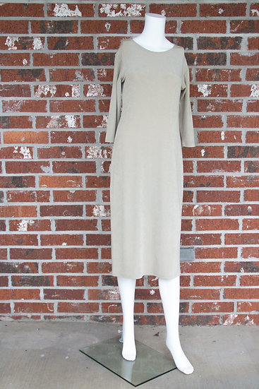 Taupe Fiore Dress