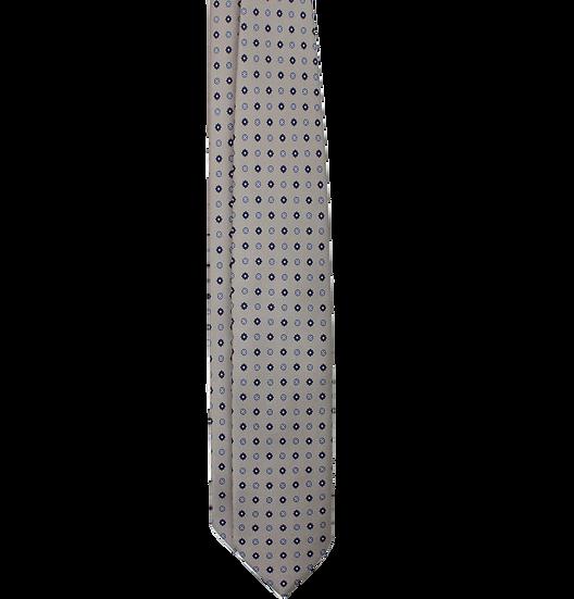 Gray Pattern Tie