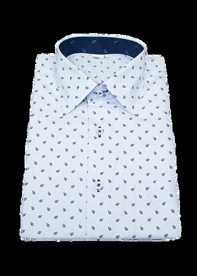 Blue Leaf Shirt