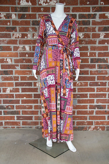 Patch Work Maxi