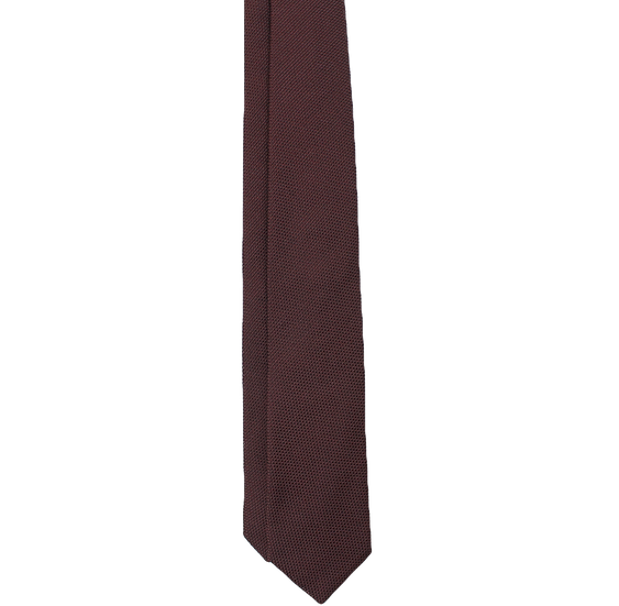 Burgundy Grenadine Tie