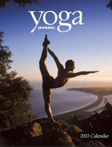 Yoga Journal 2003 Calendar copy written by Catherine Elliott Escobedo