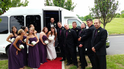 LimoBus Wedding