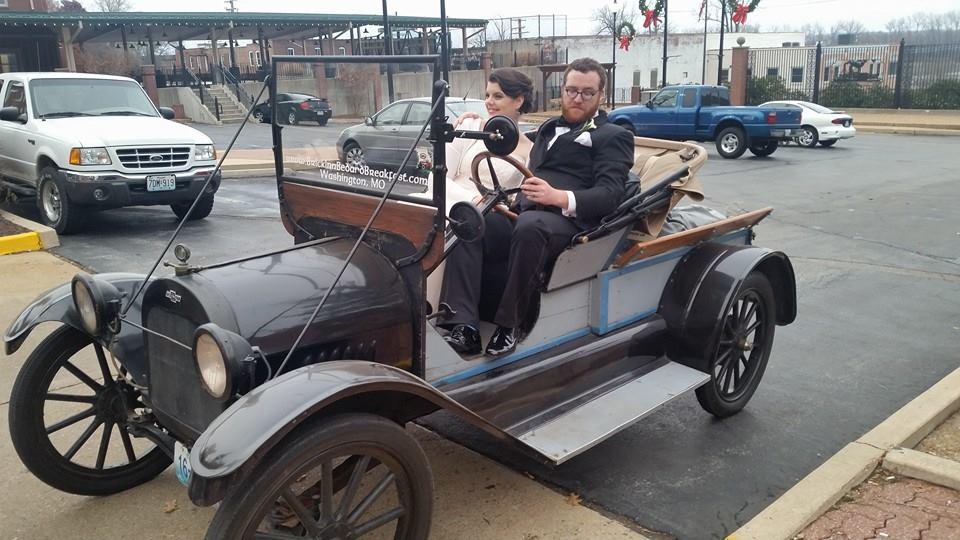 1915 Chevrolet Wedding