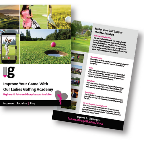 LLG Personalised Flyers