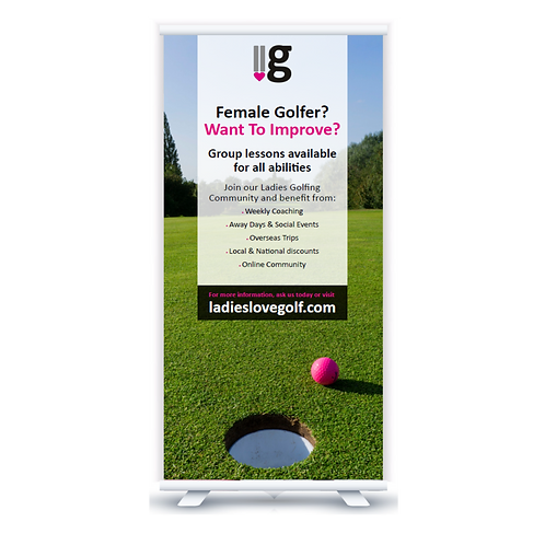 LLG Pull Up Banner