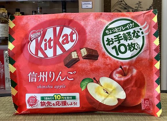 Kit Kat shinshu apple