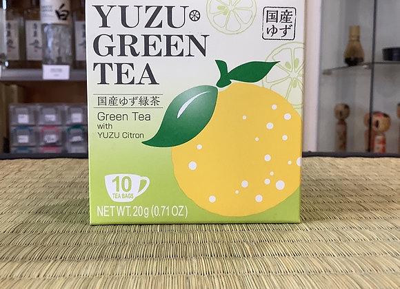 Thé vert Yuzu