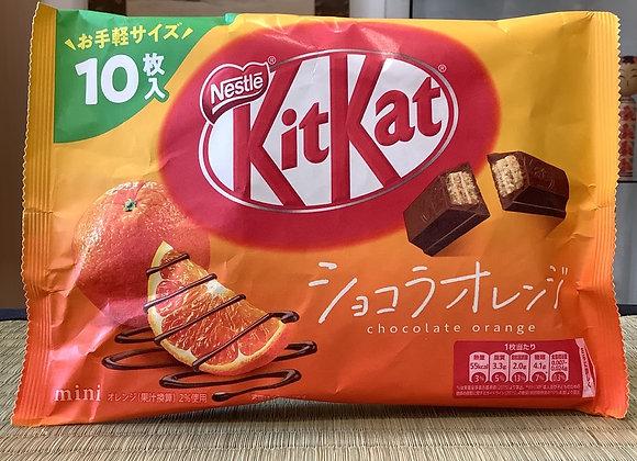 Kit Kat orange chocolat