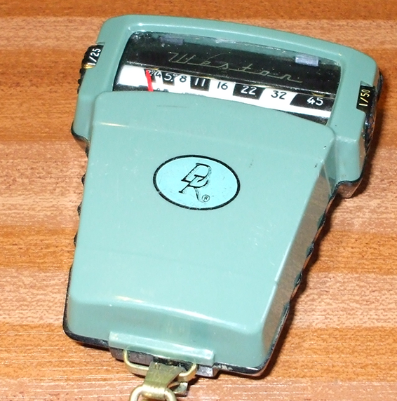 Weston Direct Reading (DR) Exposure Meter Model 854