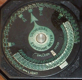 Verdigris on Weston Photronic 650 Dial