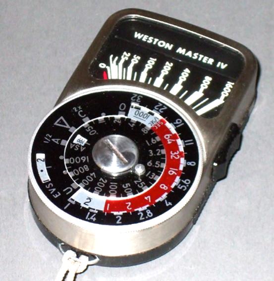 Weston Master IV Exposure Meter