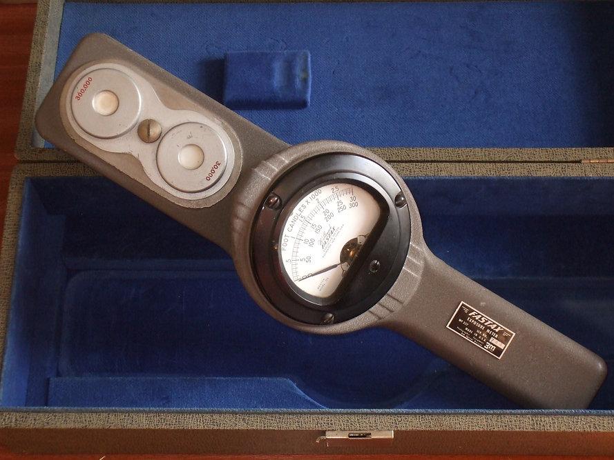 Wollensak (Weston) Fastax Light Meter, High Speed Cine, Model 755, Exposure meter