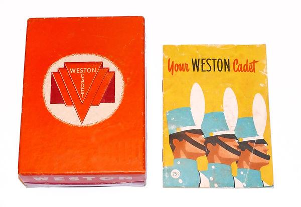 Weston 852 Cadet Box and Instructions.jp
